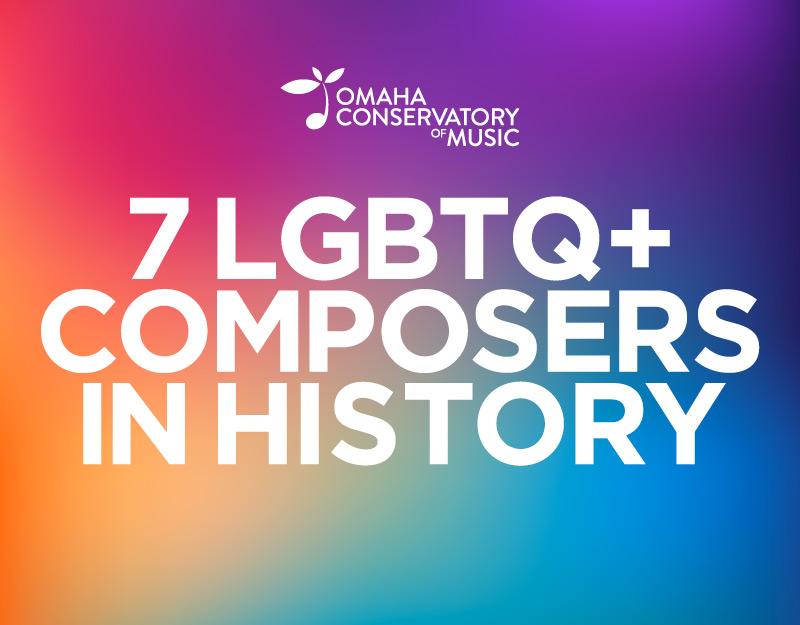 7 lgbtq composers in history blog post thumbnail